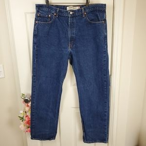 Men's Levi's 505 regular fir 40x32 denim jeans